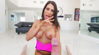 Muddy-Chatting Makayla's Bap Internal ejaculation
